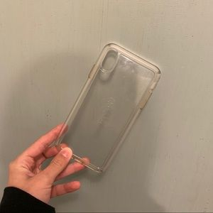 iPhone XS Max Clear Speck Case